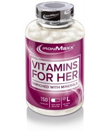 IronMaxx Vitamins for Her 150 капс