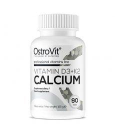 OstroVit Vit D3+К2 Calcium 90 таб