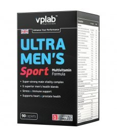 VPLab Ultra Men's Sport Multivitamin 90капс
