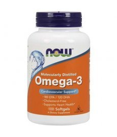 NOW Omega 3 30 капс