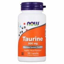 NOW Taurine 500 100 капс