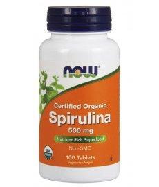 NOW Spirulina 100 таб