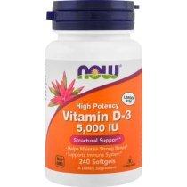 Now Vitamin D3 5000 240 капс
