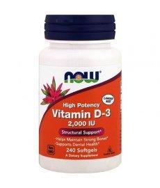 Now Vitamin D3 2000 240 капс