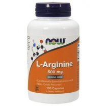 Now Foods L-Arginine 500 мг 100 капс