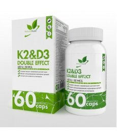 NaturalSupp Vit D3+K2 60 капс