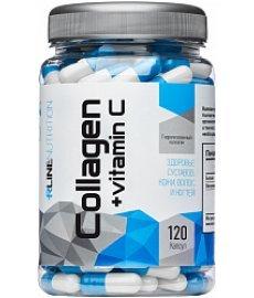R-LINE Collagen + Vitamin C 120 капс