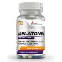 WestPharm Melatonin 5mg 60 капс