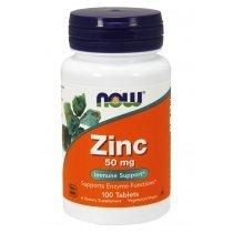 NOW Zinc Glucinate 50 mg 100 таб