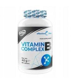6Pak Nutrition Vitamin B Complex 90 таб