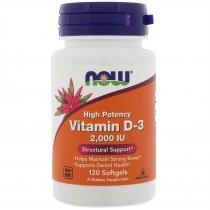 Now Vitamin D3 2000 120 капс
