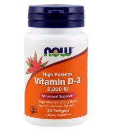 Now Vitamin D3 2000 30 капс