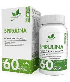 NaturalSupp Spirulina 60 капс