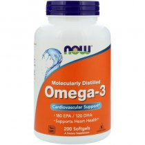 NOW Omega 3 200 капс