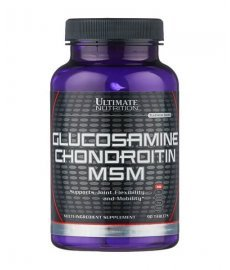 Ultimate Glucosamine-Chondroitin MSM 90 таб