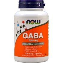 Now GABA 500 mg  100 капс