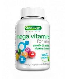 Quamtrax Mega Vitamins for Men 60 таб